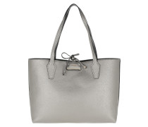 Tote Bobbi Inside Out Tote Pewter/Logo silber