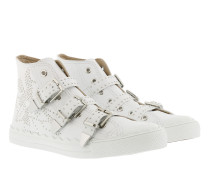Chloé Shoes CHC18S211 091 White Sneakers