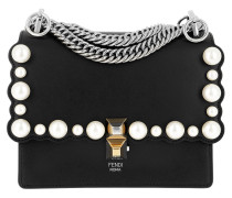Kan I Small Shoulder Bag Nero Palladio