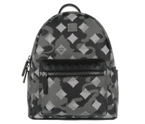 Stark Munich Lion Camo Backpack Small Silver Shadow Rucksack grau