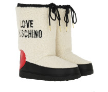 Boots Ski Boot Natural/Rosso beige