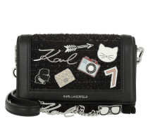 K/Klassik Pins Crossbody Black Tasche