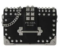 Cahier Shoulder Bag Leather Black Tasche