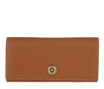 Millbrook Wallet Pebbled Leather Lauren 2 Tan/Orange