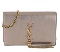 Umhängetasche Kate Mini Bag Leather Piombo/Nero gunmetal
