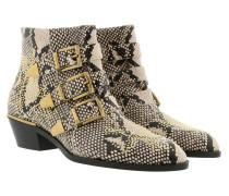 Susanna Snake Print Boots Eternal Grey Schuhe