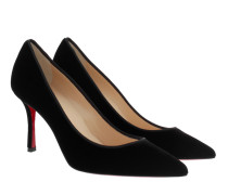 Pumps Decoltish 85 Velvet Pumps Black schwarz