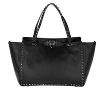 Rockstud Medium Shopping Bag Black Shopper