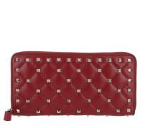 Rockstud Spike Wallet Red Portemonnaie