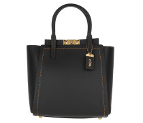 Tote Mixed Leather Troupe Tote Black schwarz