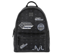 Stark Victory Patch Visetos Backpack Medium Black Rucksack