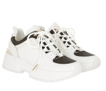 Sneakers Cosmo Trainer Optic White/Brown weiß
