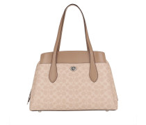 Tote Canvas Signature Lora Carryall Sand Taupe