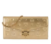 Portemonnaie Patricia Patent Flap Wallet Large Gold gold