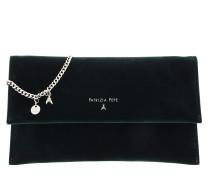 Umhängetasche Logo Crossbody Bag Green Velvet