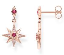 Schmuck Earrings Star Roségold roségold