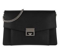 Medium GV3 Bag Leather Black Satchel Bag
