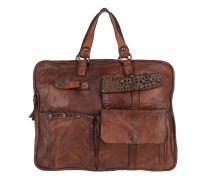 Leather Handle Bag  Tote