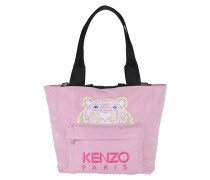 Icon Tote Large Tiger Flamingo Pink