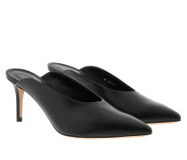 Pumps Eddie Open Pump Black schwarz
