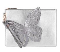 Butterfly Pochette Silver Glitter Pochette