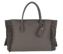 Tote Pénélope Tote Bag M Leather Grey grau