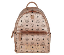 Rucksack Trio Stark Backpack Small Champagne Gold rosa
