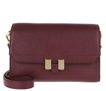 Umhängetasche Lilia Tablet Mini Chianti/Lipstick Red/Gold