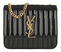 Vicky Crossbody Bag Leather Black Tasche