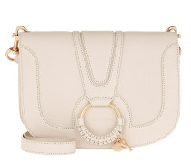Umhängetasche Hana Crossbody Leather Cement Beige beige