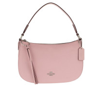 Umhängetasche Polished Pebble Leather Sutton Crossbody Bag Pink rosa