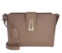 Lock Shoulder Bag Noisette Tasche