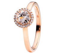 Ring Espressivo Morganite Faceted Rosegold
