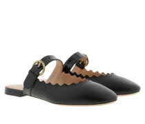 Lauren Mules Leather Black Schuhe