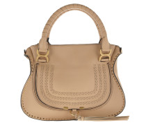 Marcie Double Carry Bag Smooth Calfskin Blush Nude Tote gold