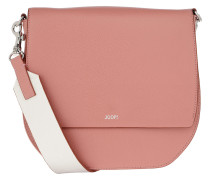 Grano Colorblocking Rhea Shoulder Bag Rose Satchel Bag