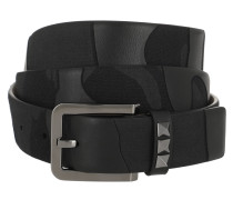Garavani Rockstud Belt Black Gürtel