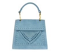 Lace Handle Bag Azur Tasche