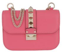 Rockstud Lock Shoulder Bag Small Shadow  Tasche