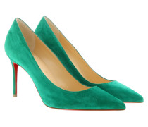 Pumps Décolleté 554 Pumps Velours Green grün