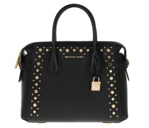 Tote Mercer Belted Small Satchel Black