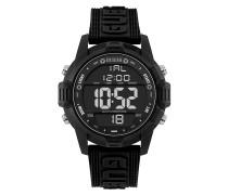 Uhr Men Quartz Watch Charge Black