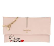 Patterned Fold Over Crossbody Bag Butterfly Rose Tasche
