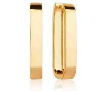 Ohrringe Matera Pianura Grande Earrings 18K Gold Plated