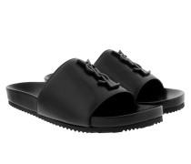 Joan 05 Slipper Leather Nero Schuhe