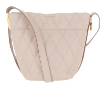 Umhängetasche Mini GV Bucket Bag Quilted Leather Pale Pink rosa