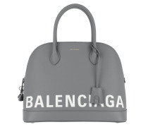 Ville Tote Leather Grey Tote