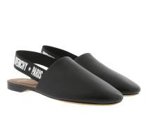 Sling Back Givenchy Stars Flat Mules Black Schuhe