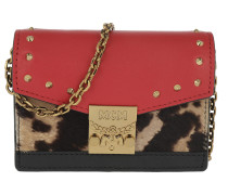 Patricia Leo Card Holder Chain Ruby Red Tasche