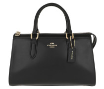 Bowling Bag Refined Calf Leather Bond Bag Black schwarz